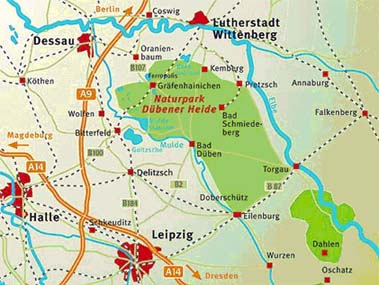 DESIRE Germany map