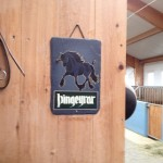 Thingyrar sign in the stables
